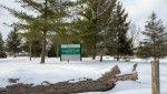 Chippawa Creek  park in winter